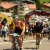 Oliver Stiegen fährt für das Swan Racing Team bei der Maratona dles Dolomites 2016